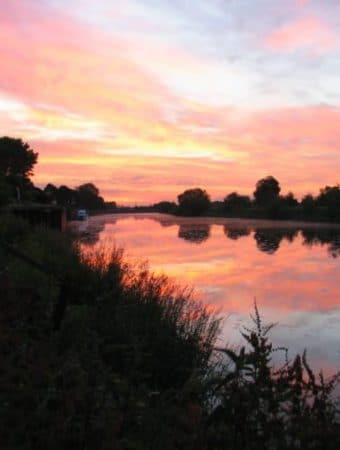Dawn on the River Trent