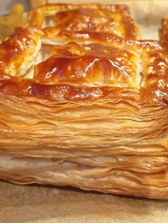 A vol-au-vent case - fully cooked