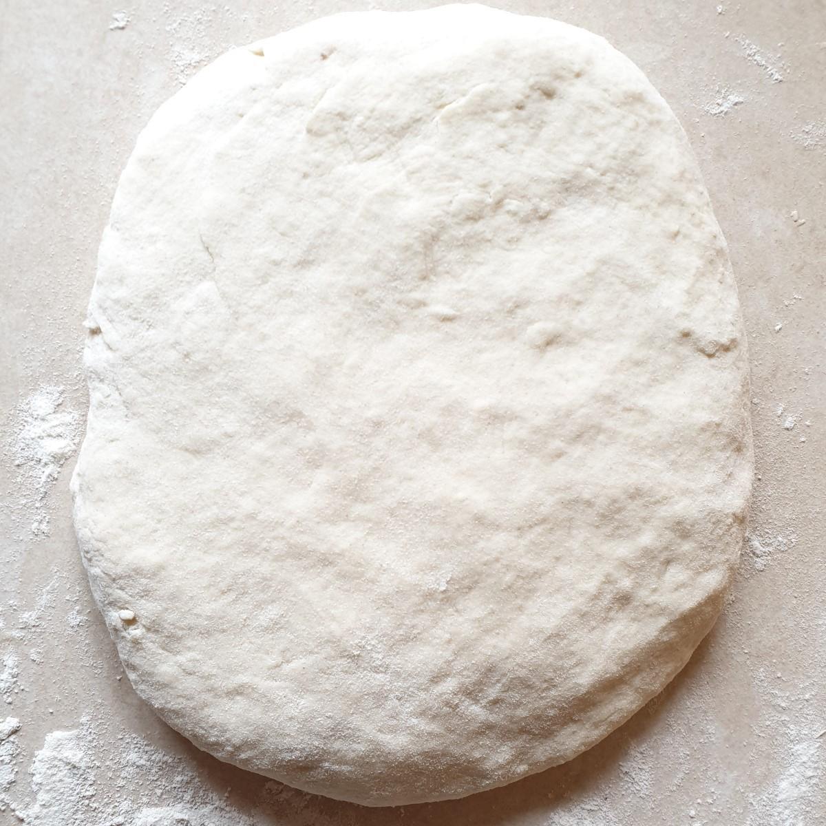 A ball of koeksister dough.