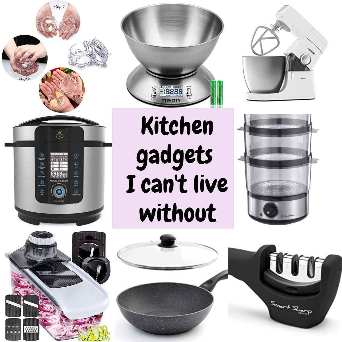Kitchen gadgets I can't live without.