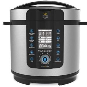 A pressure king pro pressure cooker.